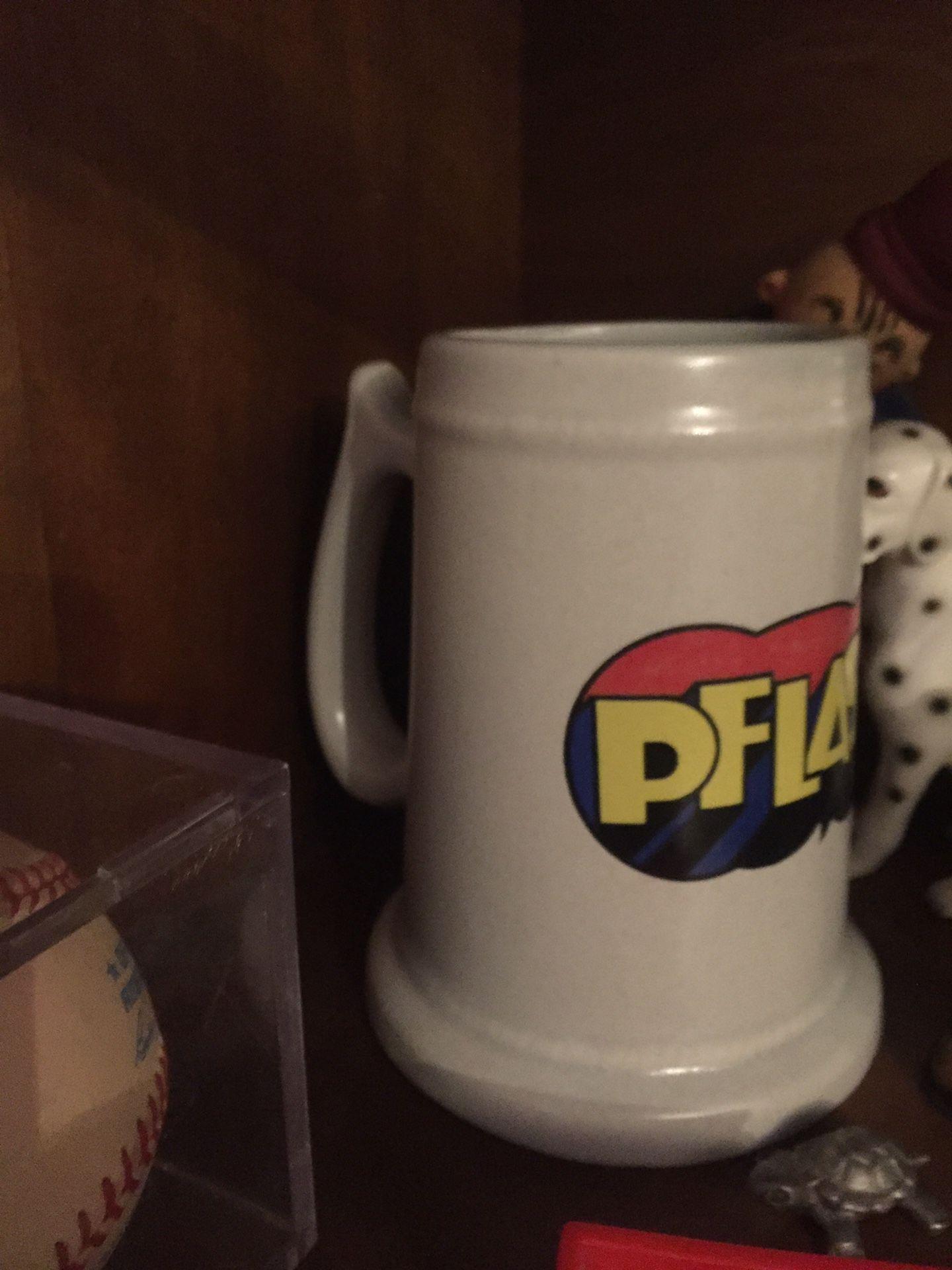 Pflash vintage beer mug