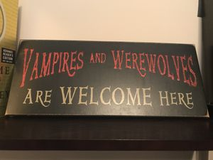 Halloween Sign for Sale in Raleigh, NC