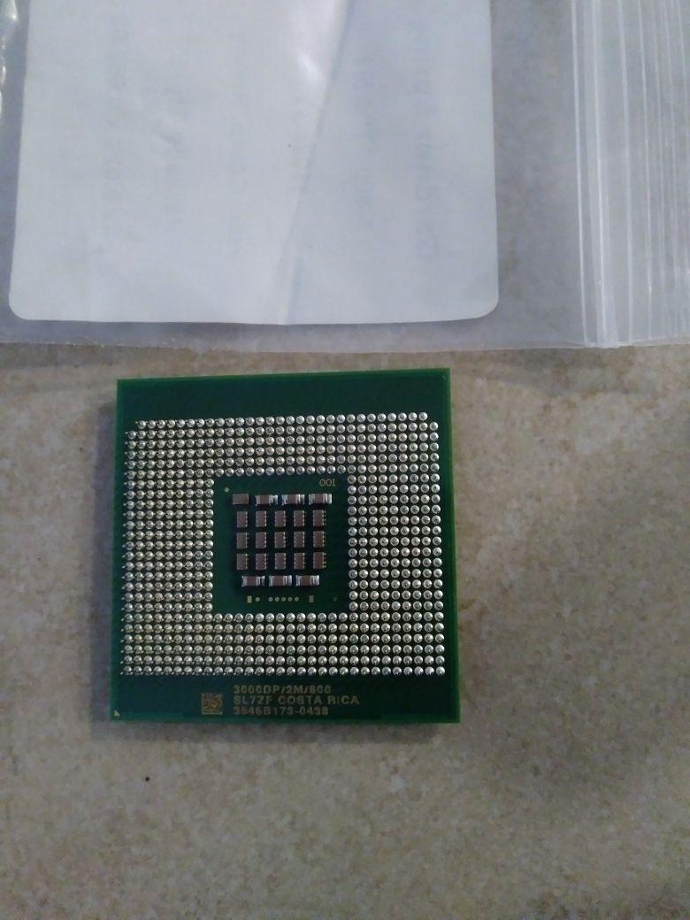 intel 300DP/2M/800 CPU PROCESSOR.