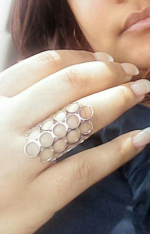 Silver or Gold Tone Finger Ring for Sale in Fairfax, VA