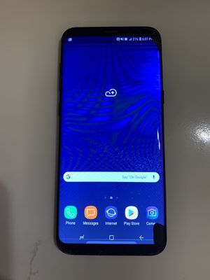 USED/GOOD CONDITION Samsung Galaxy S8+ PLUS 64GB 4G LTE (FACTORY UNLOCKED) AT&T T-MOBILE METROPCS +Charger $240 Firm for Sale in Lakewood, CA