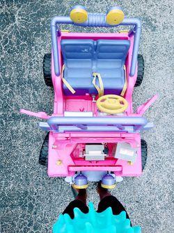 Barbie Power Wheels Car Thumbnail