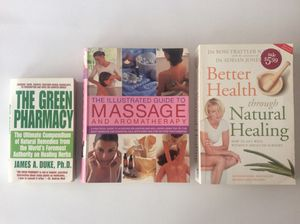 Massage and Natural Healing Books for Sale in San Francisco, CA