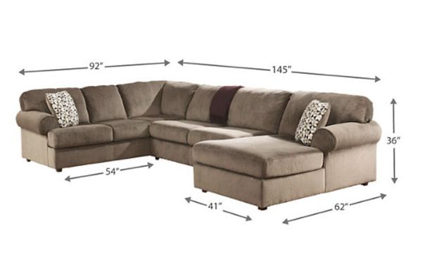 Offerup Las Vegas >> Large Gorgeous Plush SECTIONAL SOFA with CHAISE LOUNGE *** By Ashley Furniture (Furniture) in ...