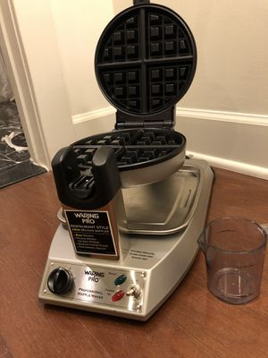 Waring Pro WMK300A Stainless-Steel Belgian Waffle Maker for Sale in Washington, DC