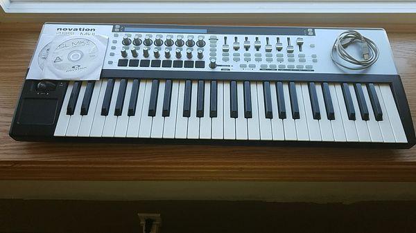 Novation 49Sl mkII MIDI keyboard for Sale in East Hartford, CT - OfferUp