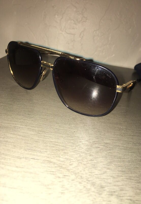 053cccc0a90 DITA VICTOIRE TITANIUM DRX-2049-B BLACK With 18K GOLD SUNGLASSES for Sale  in Phoenix