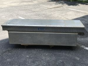 Heavy Duty Stainless Steel Truck Bed Tool Box Full Size for Sale in North Potomac, MD