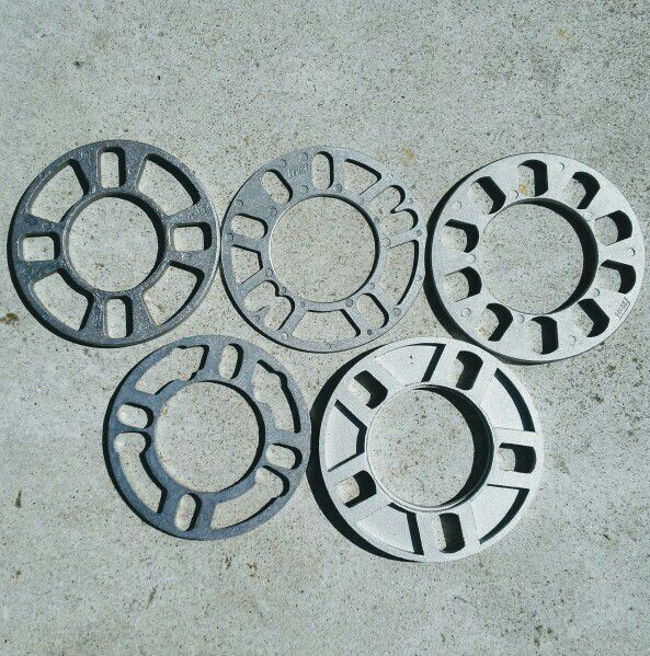 Spacers 3mm 5mm 8mm 13mm Various Bolt Patterns For Sale In