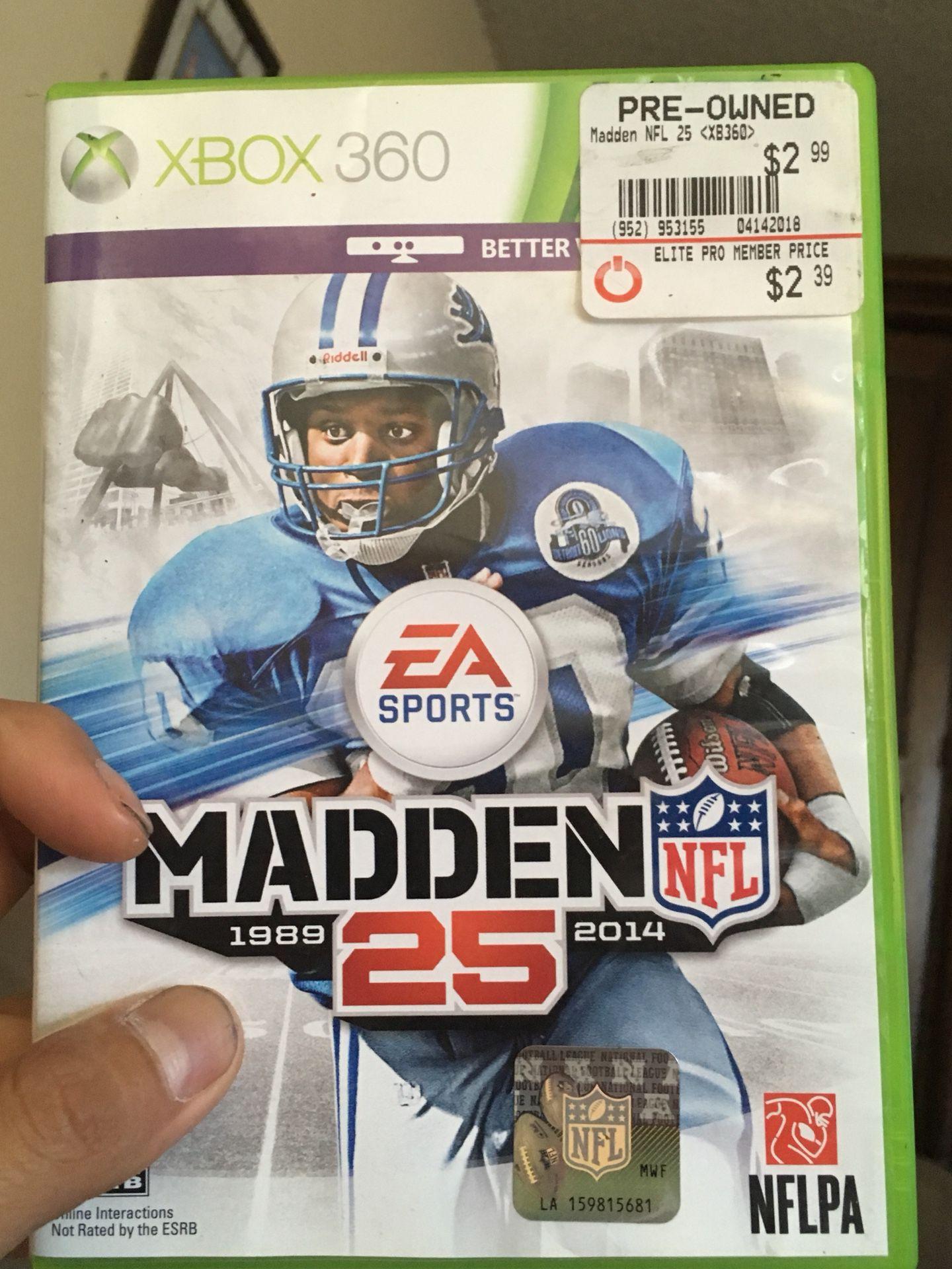madden25 excellent