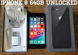 Iphone 8 (4.7') UNLOCKED 64GB (Like-New) for Sale in Falls Church, VA
