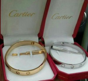 Cartier love bracelet(gold or silver) for Sale in Silver Spring, MD