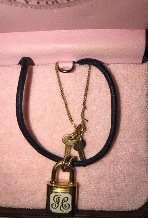 Juicy Couture very pretty double necklace for Sale in Frederick, MD
