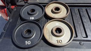 Ivanko 10lb plates for Sale in San Diego, CA