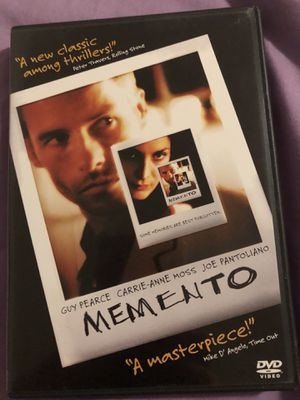 Memento, DVD for Sale in Salt Lake City, UT