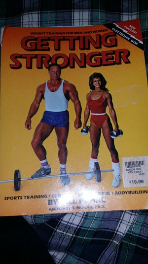 Getting Stronger weight training book for Sale in Las Vegas, NV