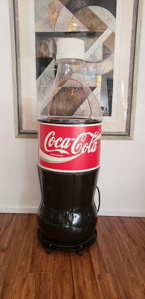 Photo BIG GIANT COKE COCA COLA COOLER IN EXCELLENT CONDITION