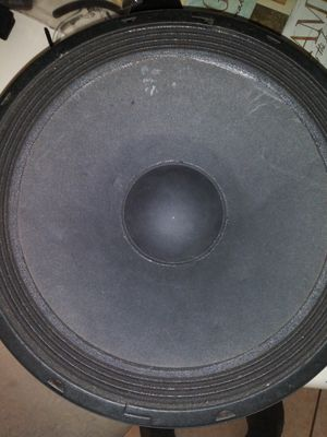 Photo 15 inch subwoofer