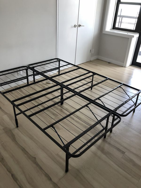 Queen size bed frame (Furniture) in Bronx, NY - OfferUp