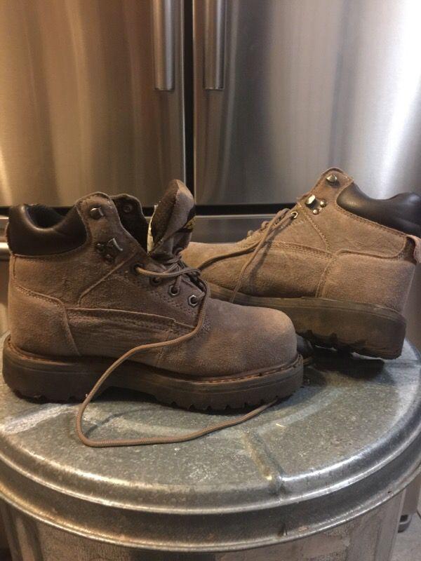 Brazos Women's Work Boots Steel toe
