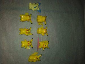 Pokémon Pikachu collection action figure set 8 piece for Sale in Hawthorne, CA