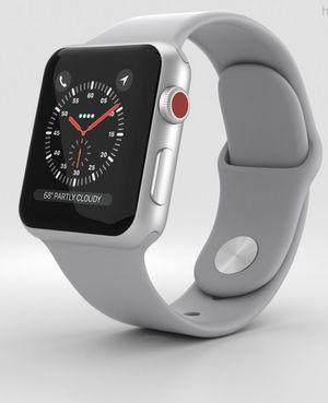 Apple Watch 3 gps + cellular 42mm for Sale in Manassas, VA