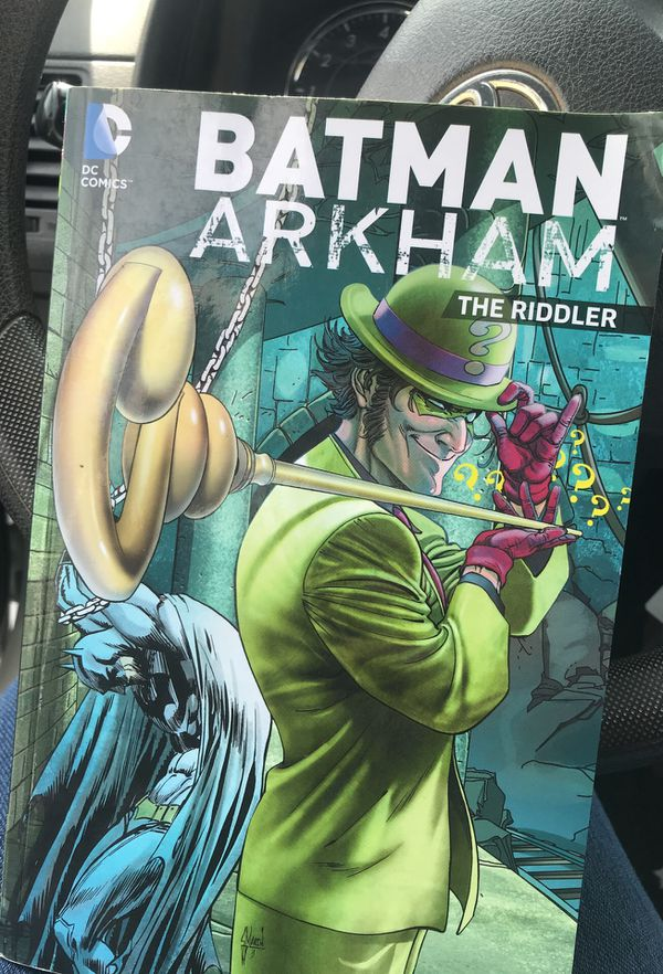 Batman Arkham The Riddler Comic Book for Sale in Santa Clarita, CA - OfferUp