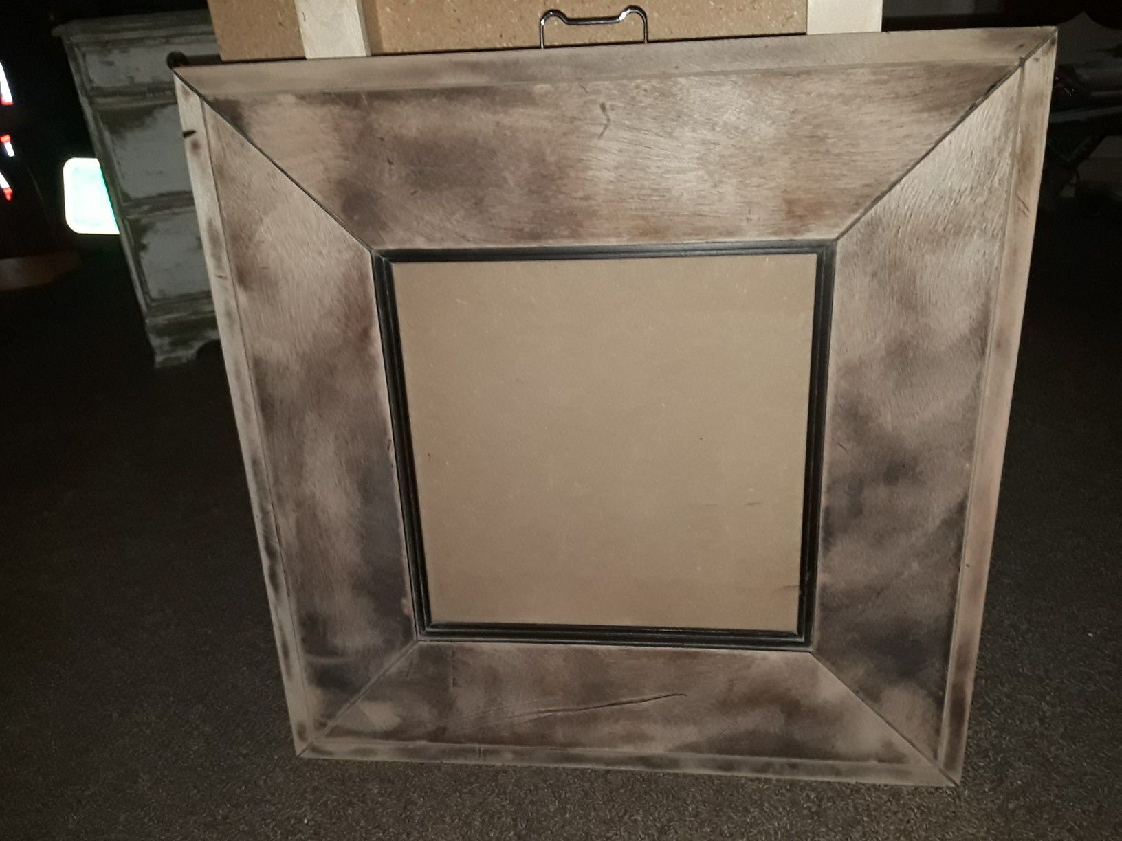 Solid wood frame for picture or mirror