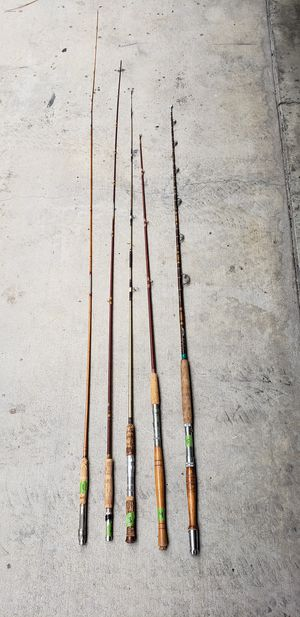Fishing poles -different prices for Sale in Los Angeles, CA