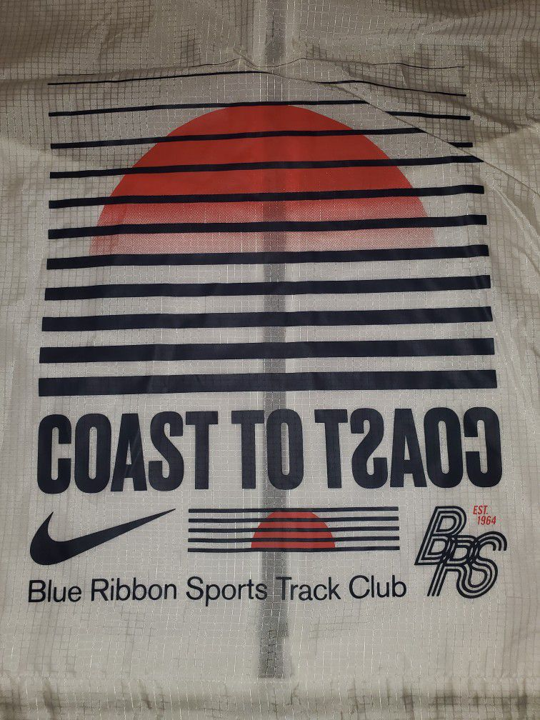 Nike Blue Ribbon Sports Track Club Packable Running Jacket