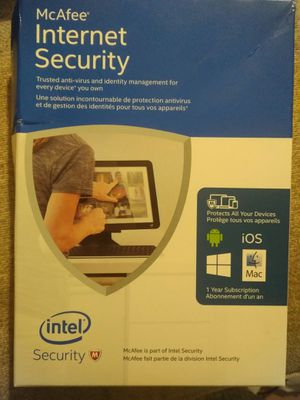 McAfee Internet Security for Sale in Renton, WA