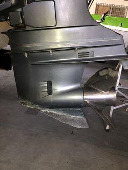 """Yamaha 250-300 hp HPDI 25"""" gear case (left hand) Thumbnail"""