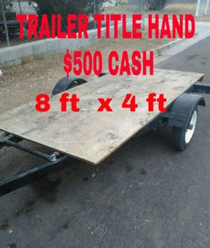 TRAILER TITLE IN HAND for Sale in Las Vegas, NV