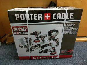 Porter cable 20v 8 piece combo kit for Sale in Davenport, FL