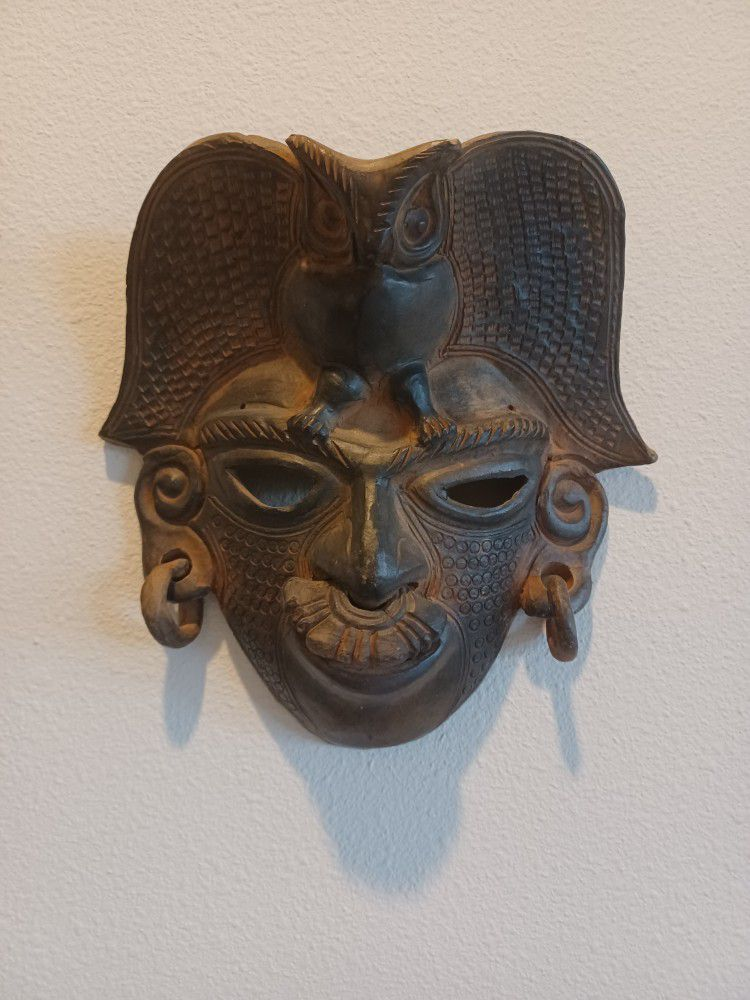 5 Colombian Native Indian Masks