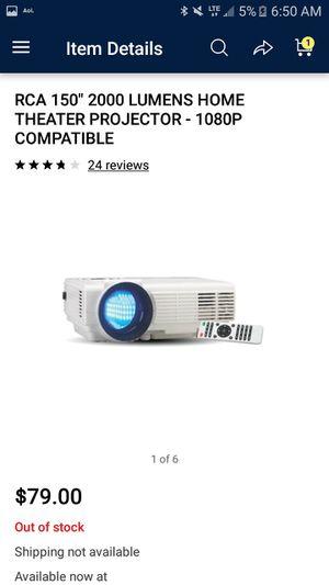 Rca projector w/remote for Sale in Bremerton, WA - OfferUp