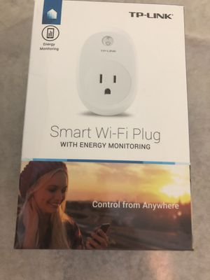 TP-Link HS110 Kasa Smart Plug Outlet w/Energy Monitoring Reliable WiFi Connection, No Hub Required for Sale in Manassas, VA