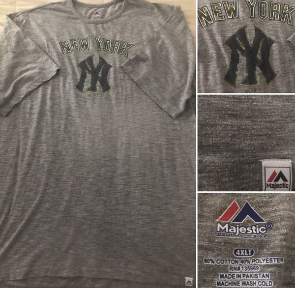 "newest 29eff 4574a New York Yankees Majestic ""Salute to Service"" Size 4XLT Shirt for Sale in  Chino Hills, CA - OfferUp"