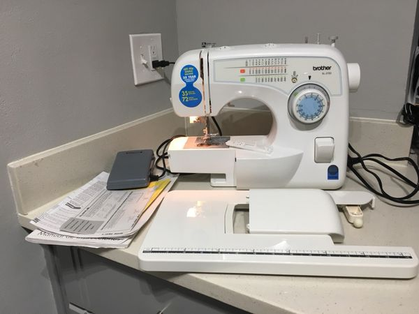 Brother XL 40 40 Stitch Free Arm Electric Portable Sewing Machine Adorable Brother Xl3750 Sewing Machine