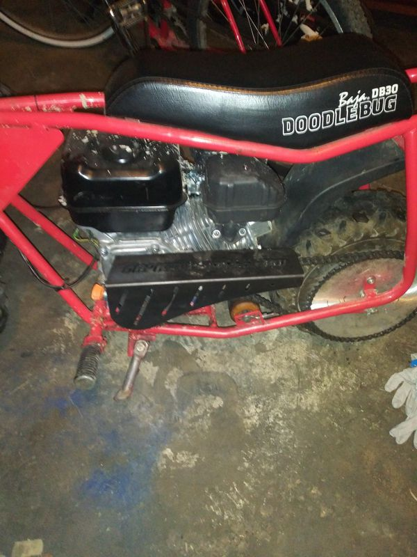Doodlebug mini bike with brand new Predator 212 with brand new 60 tooth  rear sprocket 10 tooth centrifugal clutch 420 dirt bike chain $500 obo for