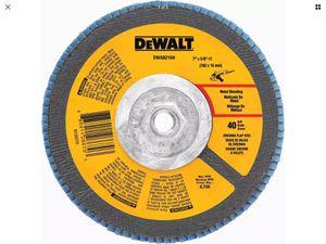 DeWalt Zirconia Flap Disc for Sale in Houston, TX