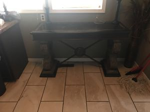 Granite table with cement base. Beautiful!! for sale  Tulsa, OK
