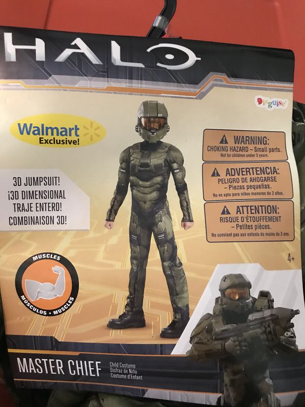 New Halloween costume halo 4-6 master chief for Sale in Copperas Cove, TX -  OfferUp