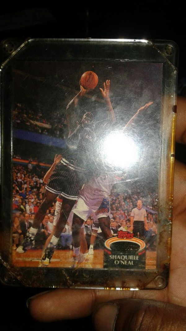 Shaquille Oneal Rookie Card For Sale In Richmond Va Offerup
