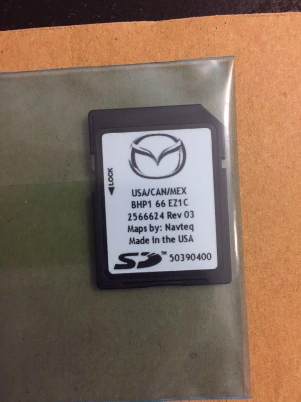 BRAND NEW Mazda Navigation SD Card BHP1 66 EZ1C NAVTEQ MAPS - MAZDA 3 for  Sale in Santa Clara, CA - OfferUp