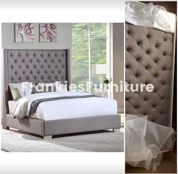 New Grey Queen Bed for Sale in Dallas, TX - OfferUp