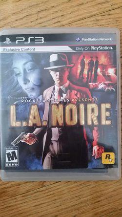 Ps3 game l.a. noire Thumbnail