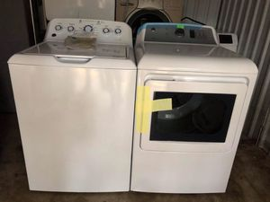 Washer and Dryer GE set brand new/ Lavadora y secadora GE nueva for Sale in Manassas, VA