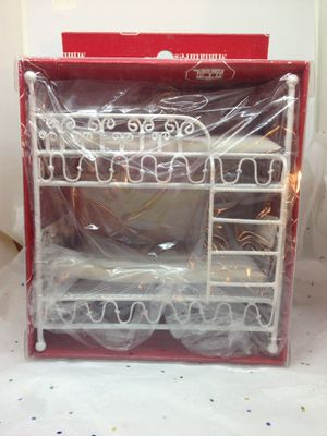 A Lovely Doll Miniature Twin Size Wire Bunk Bed from Town Square Miniatures for Sale in Eno Valley, NC