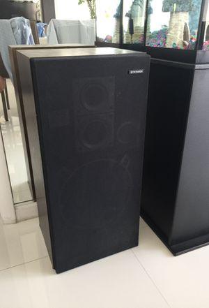 Pioneer Floor Standing Speakers - set of two for Sale in Miami, FL
